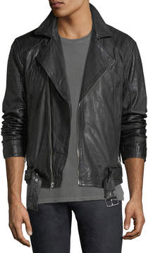 Joe's Jeans Hunt Leather Moto Jacket