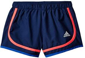 adidas Kids Relay Race Woven Shorts Girl's Shorts
