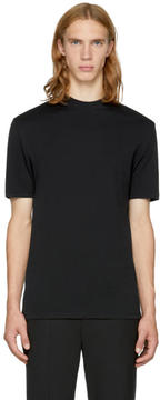 Neil Barrett Black Mock Neck T-Shirt