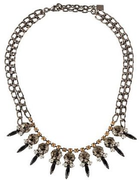 Dannijo Crystal Bib Necklace