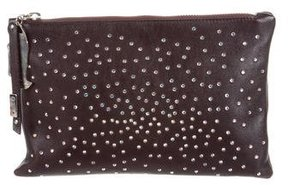 Giuseppe Zanotti Embellished Zip Pouch