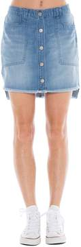Bella Dahl Button Front Skirt-Indio Wash-25
