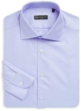 Corneliani Long Sleeve Cotton Stripe Shirt