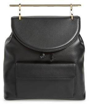 M2Malletier Calfskin Leather Backpack - Black
