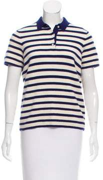 Demy Lee Striped Cashmere Top