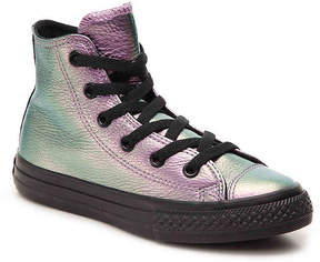 Converse Girls Chuck Taylor All Star Iridescent Toddler & Youth High