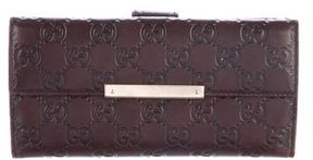 Gucci Guccissima Continental Wallet - BROWN - STYLE