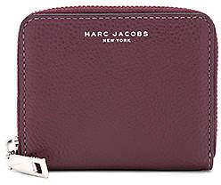 Marc Jacobs Recruit Zip Card Case - BLACKBERRY - STYLE