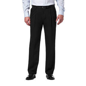 Haggar PREMIUM STRETCH CLASSIC FIT PLEATED