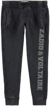 Zadig & Voltaire Logo print tracksuit pants