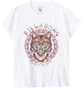 Billabong Girls' Rayzup Geo Wolf Graphic S/S Tee (4yrs14yrs) - 8135464