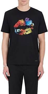 Paul Smith Men's Lip-Print Cotton Jersey T-Shirt