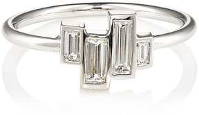 Finn Women's Baguette White Diamond Ring