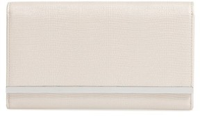 Nordstrom Sparkle Bar Clutch - Beige