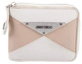 Jimmy Choo Leather Zip Wallet