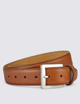 Marks and Spencer Square Buckle Leather Belt