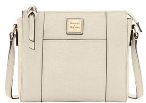 Dooney & Bourke Saffiano Lexington Crossbody Shoulder Bag - BONE - STYLE