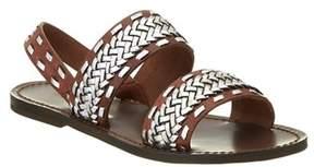Maje Fatale Leather Sandal.