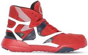 Valentino Made One Nubuck Basketball Sneakers