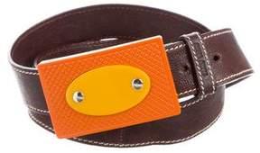 Miu Miu Grain Leather Belt