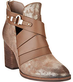 Isola Ladora Dramatic Cross Front Booties