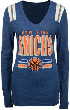 5th & Ocean Women's New York Knicks Free Kick Long-Sleeve T-Shirt