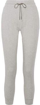 Calvin Klein Underwear Cotton-blend Jersey Track Pants - Stone