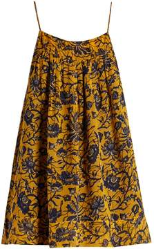 Etoile Isabel Marant Bronson floral-print silk-chiffon top