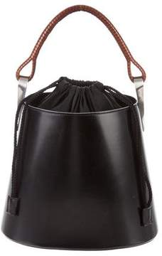 Kenzo Leather Bucket Tote