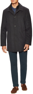 Kenneth Cole New York Men's Eliot Wool Topcoat