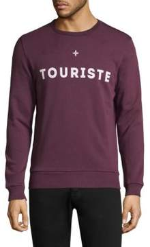 Commune De Paris Touriste Cotton Sweatshirt