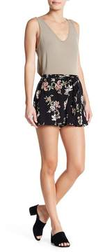 Angie Floral Belted Shorts