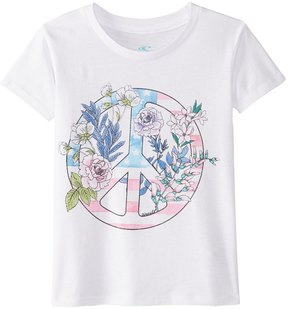 O'Neill Girls' Freedom Flowers Tee (2T6) - 8163928