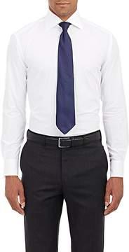 Piattelli MEN'S COTTON POPLIN DRESS SHIRT