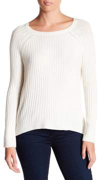 Michael Stars Ribbed Side Zip Sweater