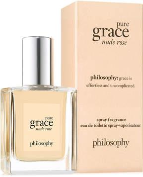 philosophy Pure Grace Nude Rose Eau de Toilette, 0.5-oz, Created for Macy's