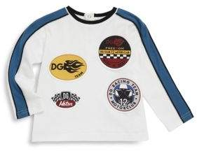 Dolce & Gabbana Baby's Cotton Racing Patchwork Tee
