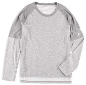 adidas Womens Climalite Cover Up Basic T-Shirt Grey XL