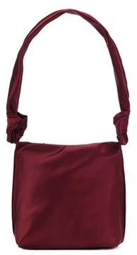The Row Small Wander satin shoulder bag