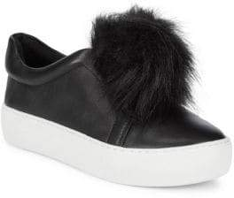 Saks Fifth Avenue Leather Platform Sneakers