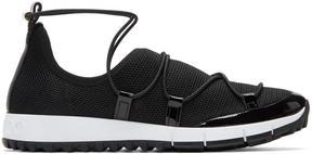Jimmy Choo Black Andrea Sneakers