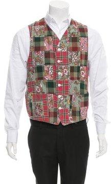 Engineered Garments Reversible Patchwork Vest