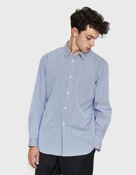 Comme des Garcons Narrow Classic Embroided Sleeve Shirt