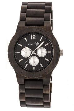Earth Wood Unisex Brown Bracelet Watch-Ethew5302