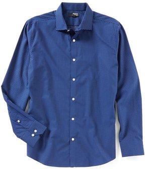 Murano Slim-Fit Liquid Luxury Long Sleeve Spread Collar Cross Shirt