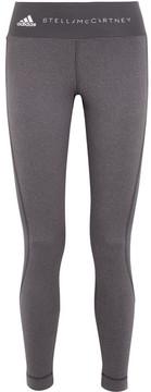 adidas by Stella McCartney Climalite Stretch Leggings - Gray