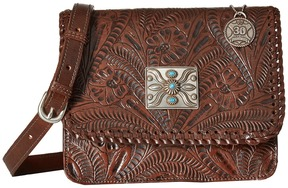 American West Grand Prairie Flap Crossbody Cross Body Handbags