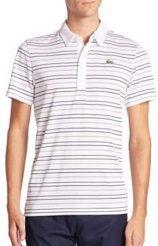Lacoste Golf Sport Textured Ultra Dry Polo