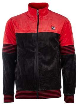Fila Marcus Track Jacket - Chinese Red, Black - Mens - M