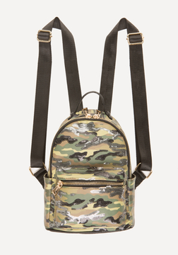Jane Sequin Camo Backpack